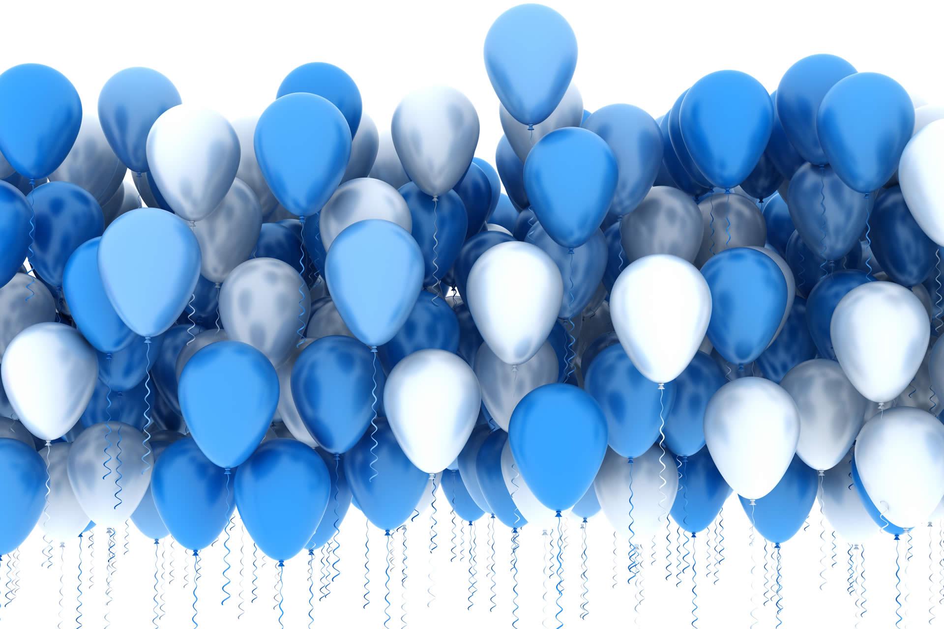 праздник поздравление с шарами шар голубой омлет очень